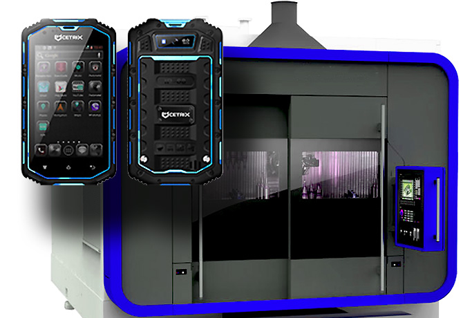 Rapid CNC Prototyping is a popular method in mobile solutions