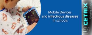 Mobile Devices and infectious diseases in schools